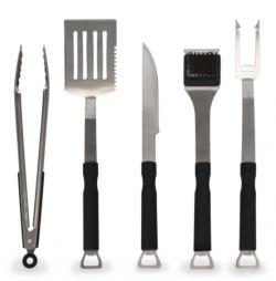 Kit de utensilios para barbacoa